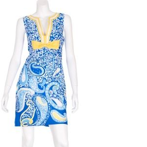 Lilly Pulitzer Reecey Dress Knotty Blue Whirlpool